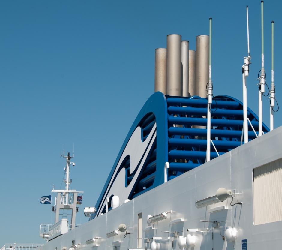 BC Ferry stacks